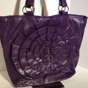 NY & Co Purple Tote